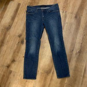 Rock & Republic Dark Wash Kashmere Crop Jeans Sz 6
